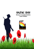 ANZAC DAY Distance Learning Activities Lower Primary