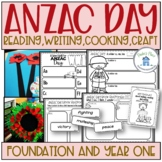 ANZAC Day Activities F-1