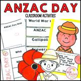 ANZAC Day Activities