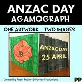 ANZAC Day Agamograph Art Activity