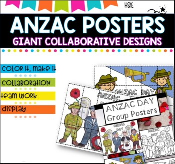 ANZAC Day Collaborative Poster