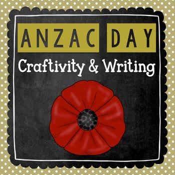 ANZAC Day Craft Activity for Kids | ANZAC Day! | Writing Craftivity