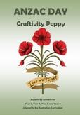ANZAC Day - Craftivity Poppy