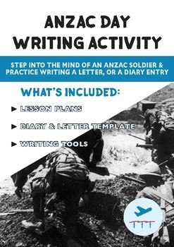 ANZAC Day | FREE Writing Activity