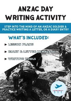 ANZAC Day | FREE Writing Activity