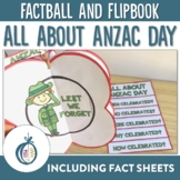 ANZAC Day Factball, Flipbook and Fact Sheet Activities