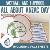 ANZAC Day Factball, Flipbook and Fact Sheet Activities