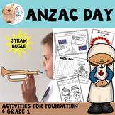 ANZAC Day Foundation / Grade 1 Activities