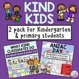 ANZAC Day Kindness