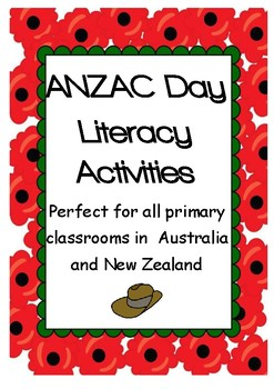 ANZAC Day Literacy Activities
