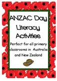 ANZAC Day Literacy Activities