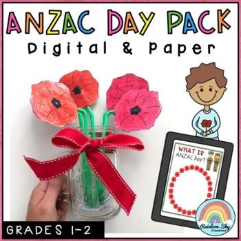 Junior ANZAC Day Pack - Years 1-2