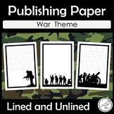 Anzac Day - War Publishing Paper