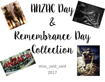 ANZAC Day & Remembrance Day collection