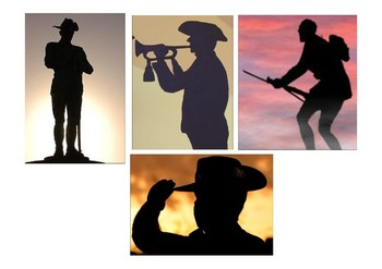 ANZAC Day - Silhouette Cut Outs