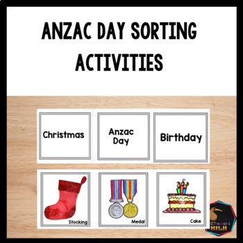 ANZAC Day Sorting