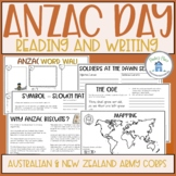 ANZAC Day Reading and Writing
