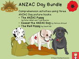 ANZAC Day bundle - HOT comprehension activities for 3 pict