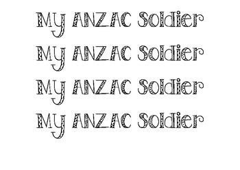 ANZAC MAB Block soldier