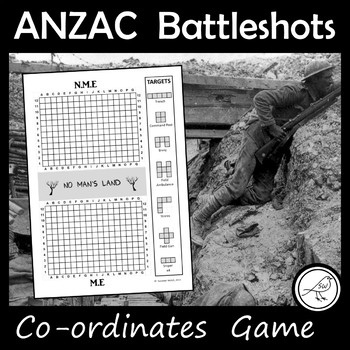 ANZAC Day – 'Battleshots' Game