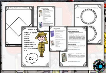 ANZAC Pack-Unit and printables and Collaborative Posters-BUNDLE