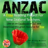 ANZAC Reading Project - FREE