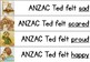 ANZAC Ted Cause and Effect Match Up Activity