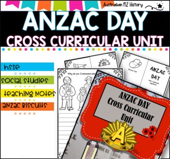 ANZAC DAY Activities Pack and unit planner