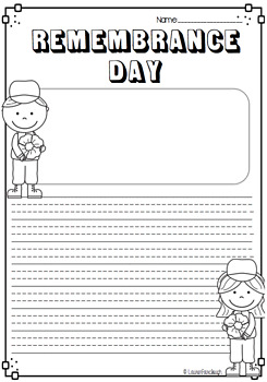ANZAC day and Remembrance Day writing and craft