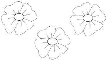ANZAC poppies art
