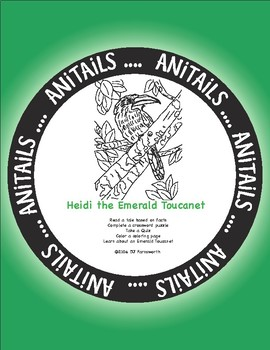 ANiTAiLS: Heidi the Emerald Toucanet Story, Crossword, Coloring page, and more