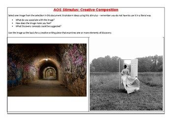 AOS Creative Writing Stimulus - Discovery
