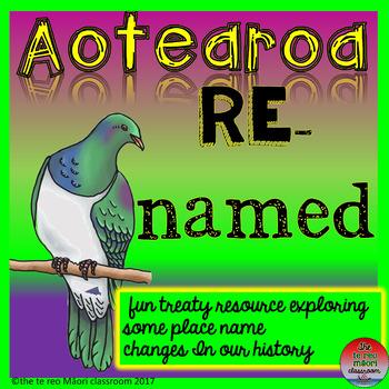 AOTEAROA             Re-named!