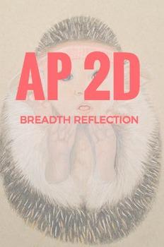 AP 2D Design Breadth Reflection Journal