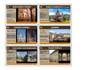 AP ART HISTORY FLASHCARDS: ARCHITECTURE IMAGES: Free