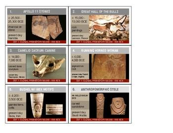 image regarding Art History Timeline Printable named AP Artwork Record FLASHCARDS / TIMELINE