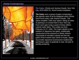 AP ART HISTORY: Section 10 (Global Contemporary) 72 SLIDES!