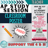 AP Academy Study Session Poster