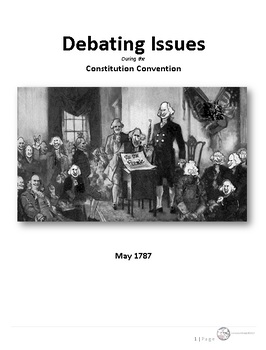 AP/American Govt - A Different Kind of Constitutional Convention Debate