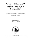 AP-Approved English Language & Composition Syllabus