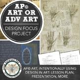 AP Art Design Based Project, 2D Design or Drawing Portfolio Assignment
