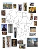 AP Art History Africa Map
