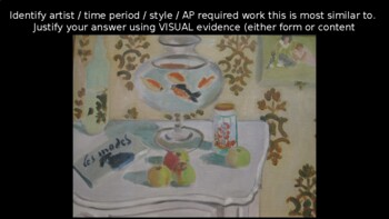 AP Art History Attribution Practice