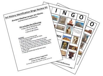 AP Art History - Bingo Memorization Review Kit - Ancient M