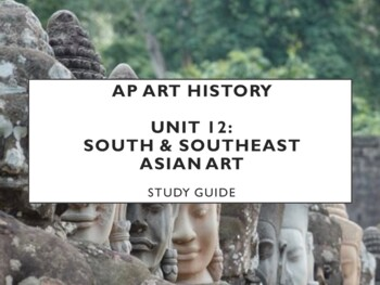 AP Art History Unit 13 (Indian Art) Study Guide