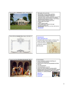 AP Art History Content 4- Later Europe & Americas 1750- 1980 C.E. NOTES