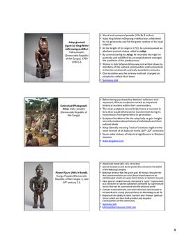 AP Art History Content 6- African Art (1100-1980 C.E) NOTES