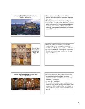 AP Art History Content 7-  West & Central Asia (500-1980 C.E.)-Islamic Art NOTES