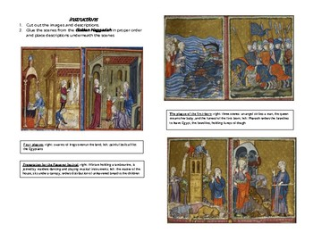 AP Art History Early Europe & Colonial America, Late Medieval, Golden Haggadah