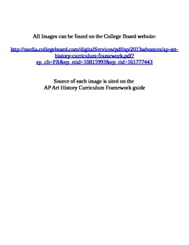 AP Art History: Europe and America 1700-1900 29,30,31